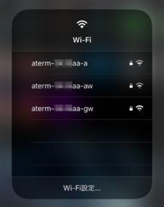 iOS13 Wi-Fi