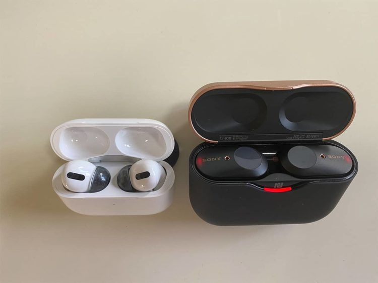 AirPods ProとWF1000X-M3比較