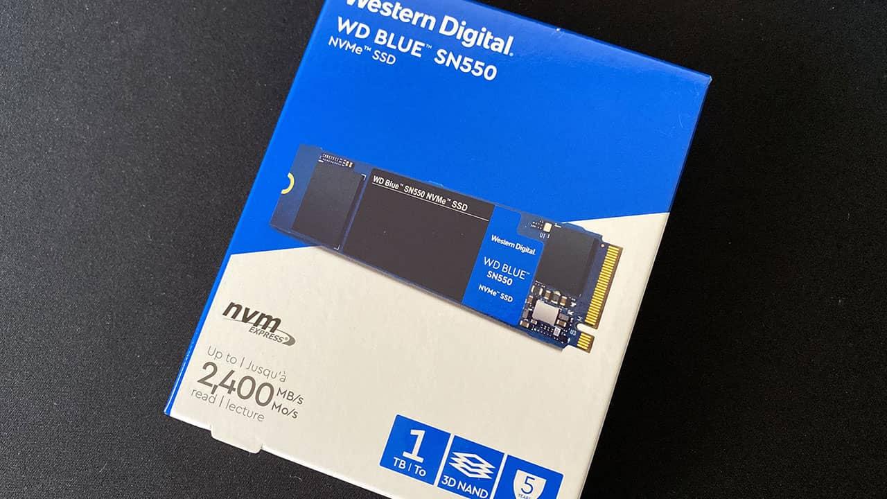 Western Digital WD BLUE SN550