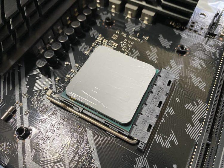 Ryzen5 3500 CPUグリス