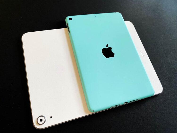 iPad Air 4とiPad mini 5
