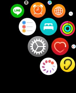 Apple Watchカレンダー